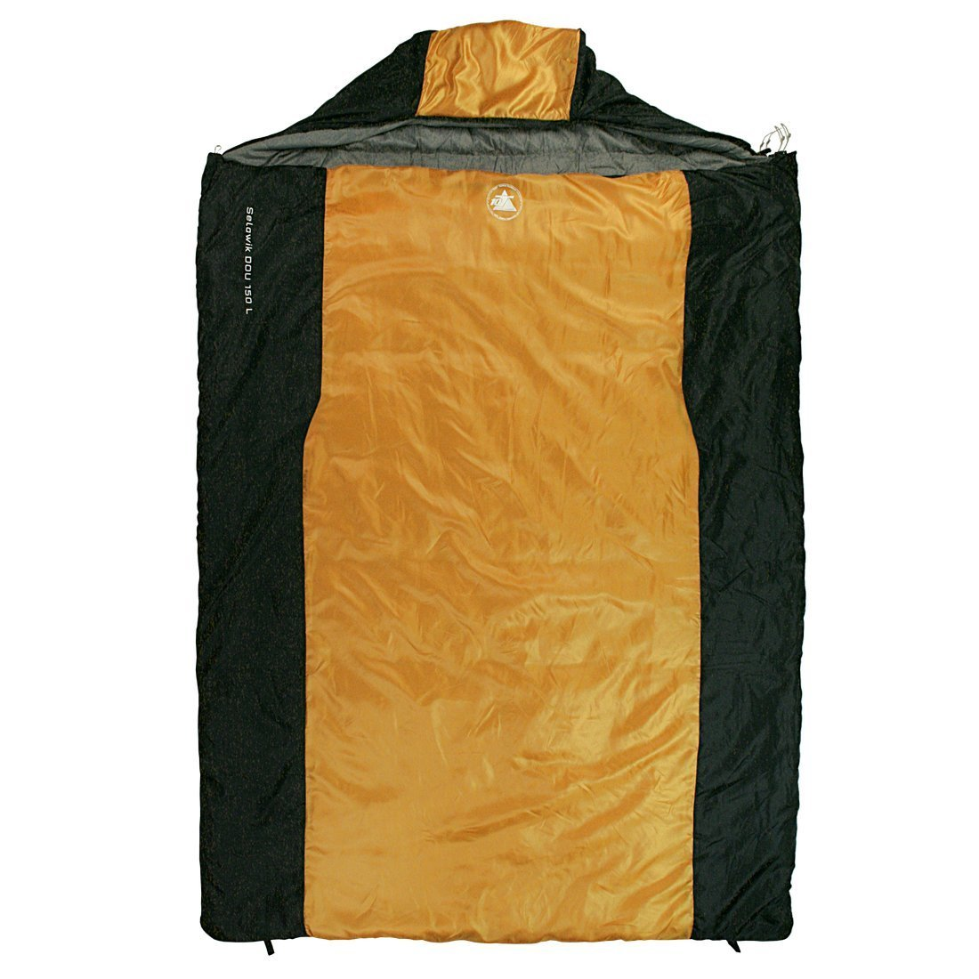 Loftra Schlafsack Comfort Space 230 x 85 x 70 cm Orange//Grau